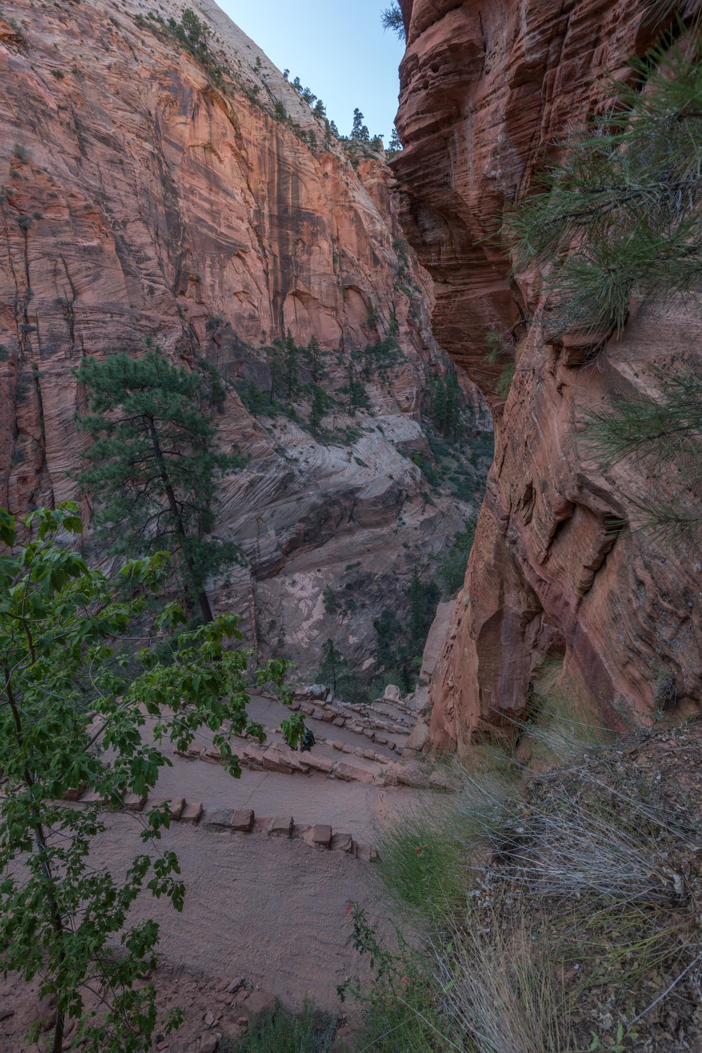 angels landing at zion national park andys travel blog