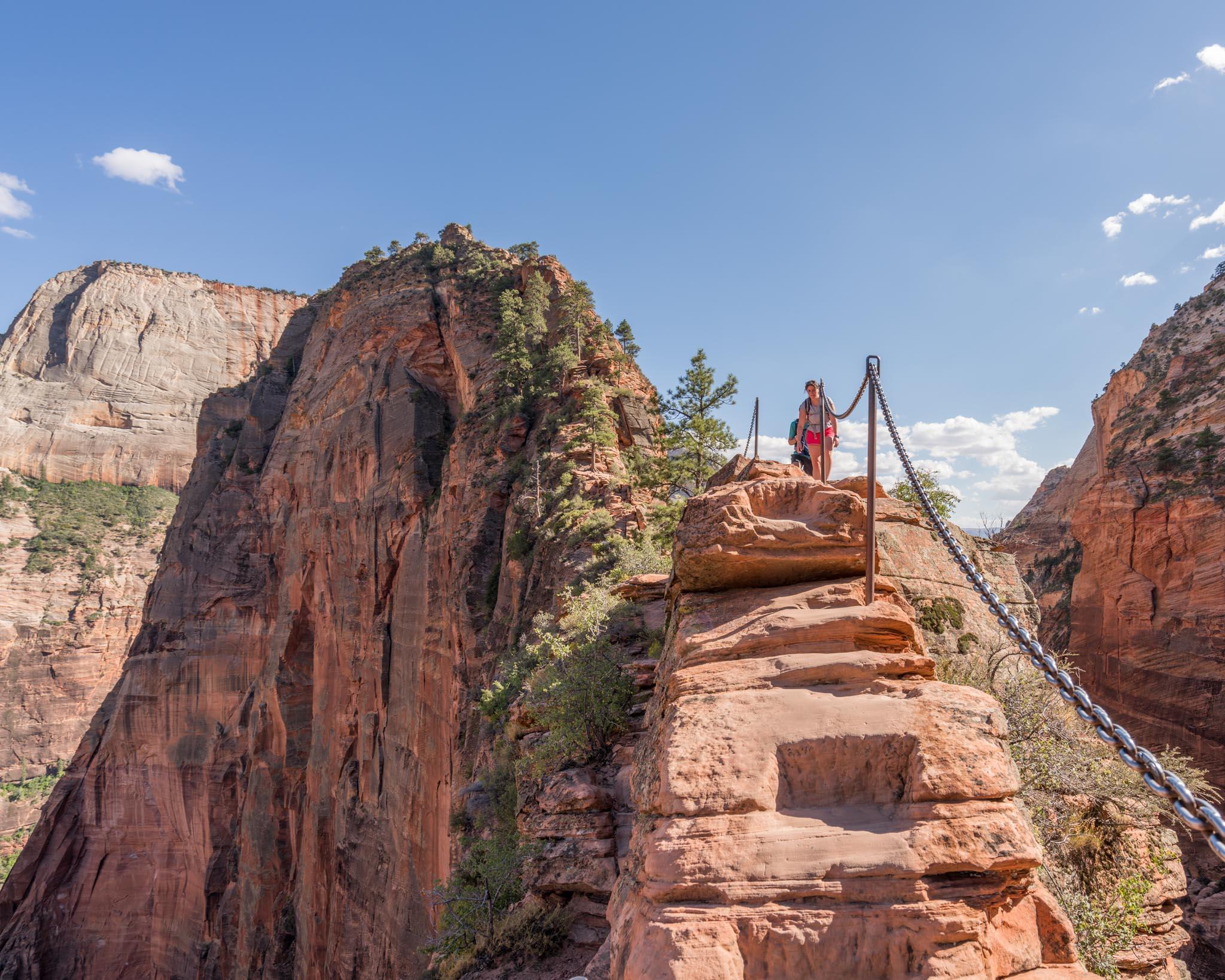 Angels Landing Zion Canyon - canyon-trails.de