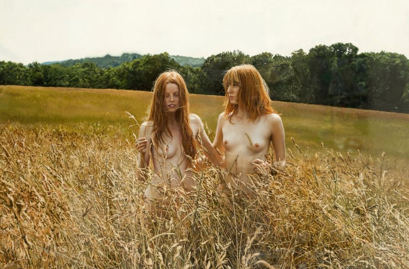 yigal-ozeri-oil-on-canvas-136