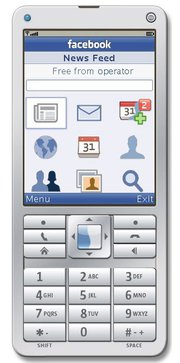 Facebook feature phones app