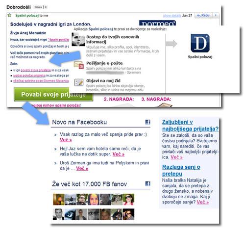E-mail Facebook
