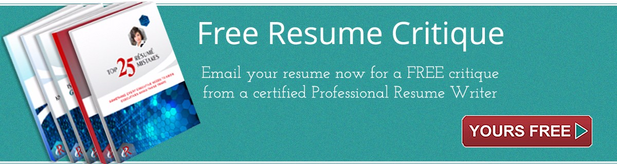 Resume Writing Services for Executives - free resume writer