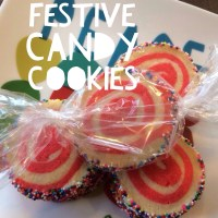 Festive Candy Cookies