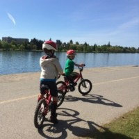 Where to bike with kids in Seattle