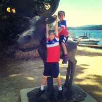 A family weekend Tesla Trip to Coeur d'Alene and stops along the way  (roadtrips from Seattle)