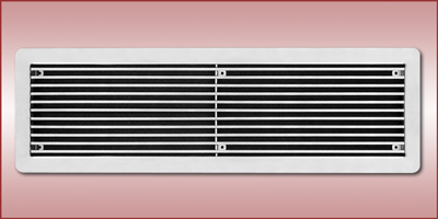 Anemostat Ssb Stainless Steel Linear Bar Grille