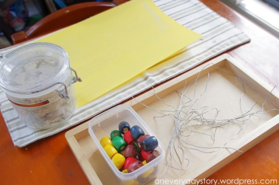 reggio provocations invitation to play clay Using Clay: Wire and Bead Sculptures