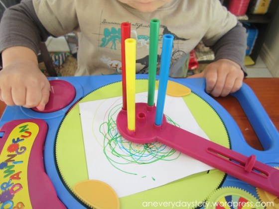 spirograph activity for children occupational bilateral coordination activity Do You Remember Spirographs?