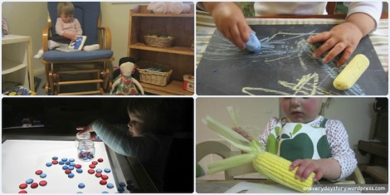 montessori practical life and creative activities for toddlers This week… 1/52