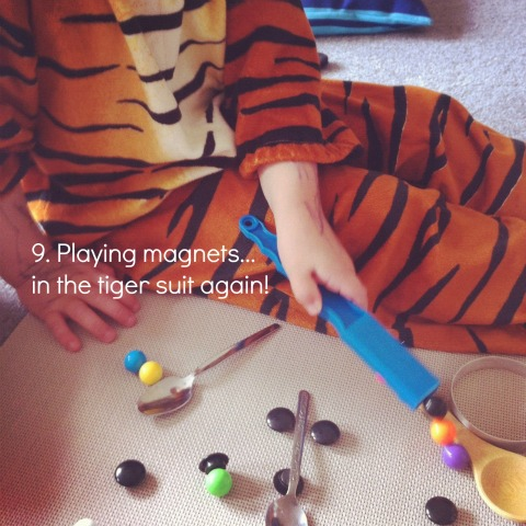 reggio activities with magnets an everyday story This Week…7/52