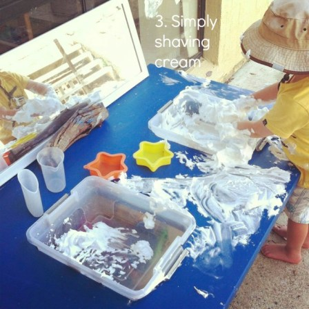 sensory activities 3 shaving cream an everyday story This Week 8/52
