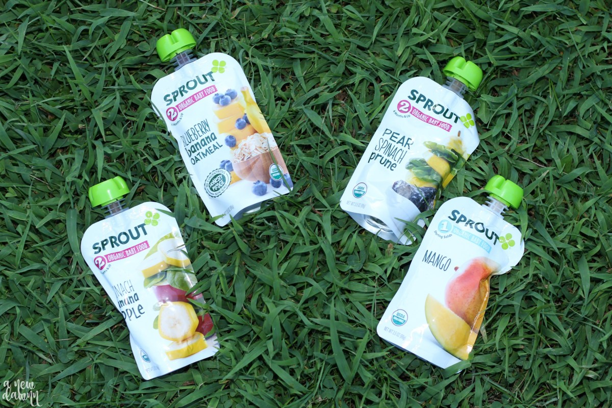 Sprout Baby Foods - A Healthy Option for Babies & Toddlers