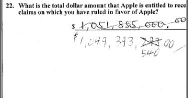 samsung handwritten jury amount pic