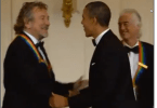 obama honors led zeppelin video snap