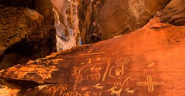 Petroglyphs, Valley of Fire, Nevada