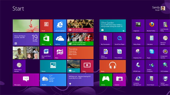 Microsoft Windows 8 Tips How To Customize Your New System