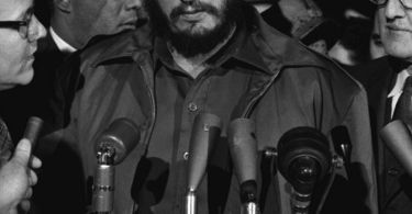 """Fidel Castro - MATS Terminal Washington 1959"". Licensed under Public Domain via Wikimedia Commons."