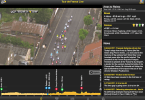 The four-frame live video user interface
