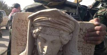 ISIS taxes ISIS Stolen Art from Syria