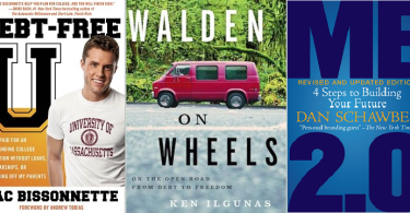 Brokenomics: 50 Ways to Live the Dream on a Dime, Dina Gachman, Ken Ilgunas, Walden on Wheels: On The Open Road from Debt to Freedom, Debt-Free U: How I Paid for an Outstanding College Education Without Loans, Scholarships, or Mooching off My Parents, Zac Bissonnette, student debt, Me 2.0, Revised and Updated Edition: 4 Steps to Building Your Future, Dan Schawbel, personal branding, The Legacy Letters: 30 Women Address the Next Generation, lisa nicole bell,