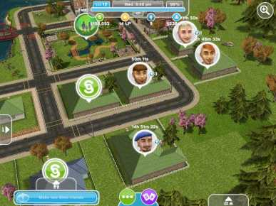 The Sims Freeplay houses