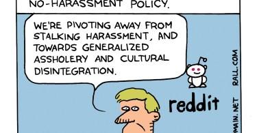 reddit harrassment policy