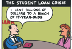 the student loan crisis ted rall