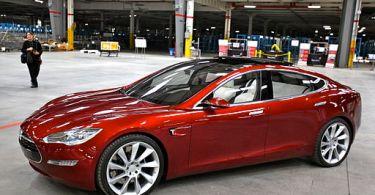 Tesla Model S Steve Wozniak