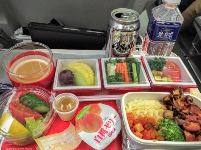 JAL-flight home-bento box