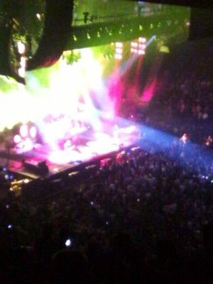 rush r40 tour Life Upon a Lighted Stage