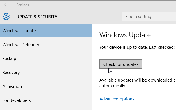 check for updates how to upgrade windows 8.1 to windows 10