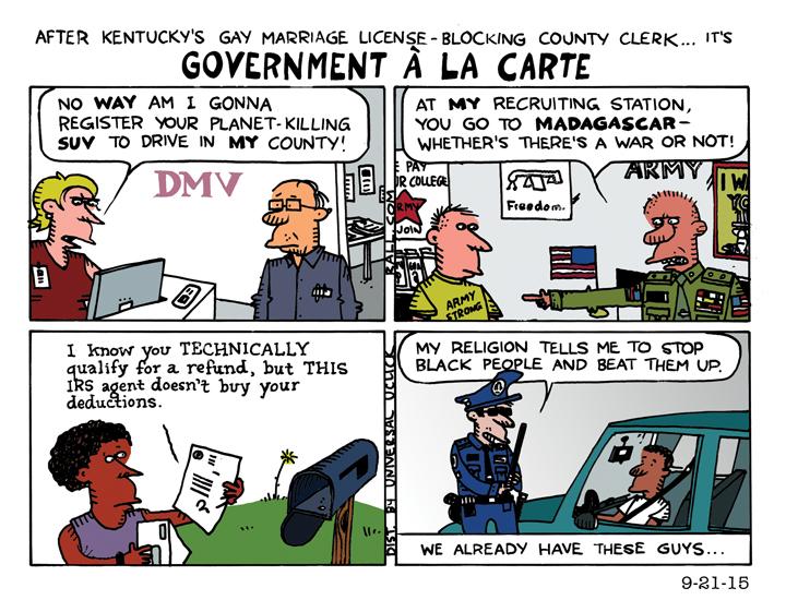 government a la carte