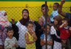 women and children syrian refugee crisis
