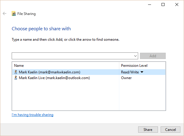 how to create shared folders in OneDrive for Business