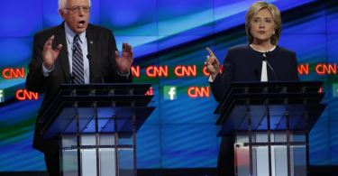 democratic debate hillary bernie