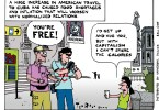 eat this, cuba, ted rall, cartoon