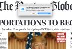 boston globe fake front page donald trump