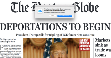 boston globe fake front page donald trump