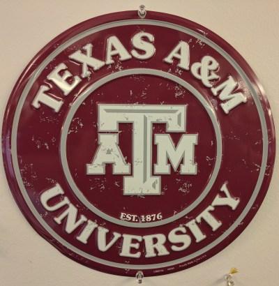 Texas A&M circle