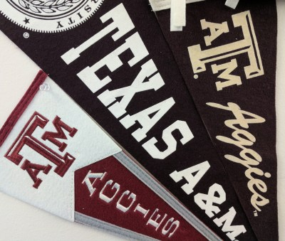 Texas A&M banners