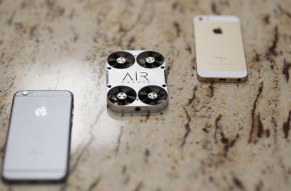air selfie review airselfie drone airselfie kickstarter pre-orders flying camera