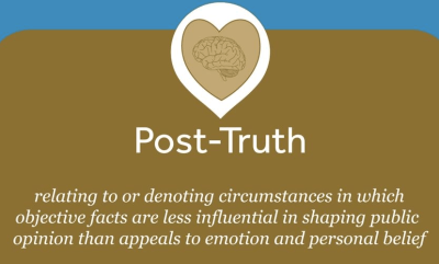 why people believe fake news and oed post-truth