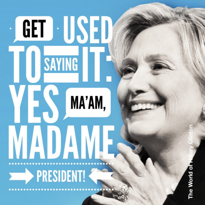 Thought Exercise: Dump Trump? Then Would Madam President Do?