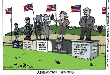 American Heroes in the Age of Trump