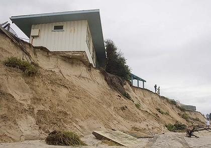 Sand Erosion house