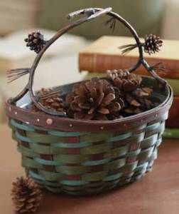 http://www.longaberger.com/lifestyle | Longaberger Collectors Club Evergreen Basket - product.62806