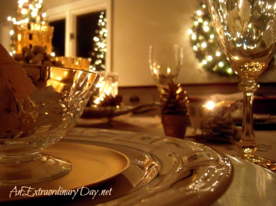 New Year's Dinner Party Table Setting - AnExtraordinaryDay.net