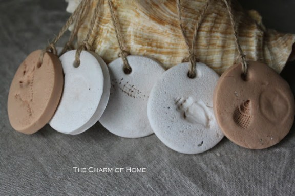 Sea Treasures Inspired Polymer Tags :: The Charm of Home