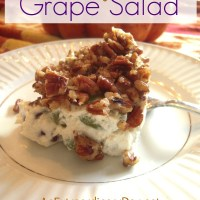 Sink your teeth into a refreshing Crunchy Grape Salad :: Fall...It's Extraordinary!