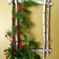 How to Create a Birch Wreath :: 12 Days of Christmas